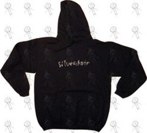 SILVERCHAIR - Black 2007 Festival Shows Old School Logo Hoodie - 1
