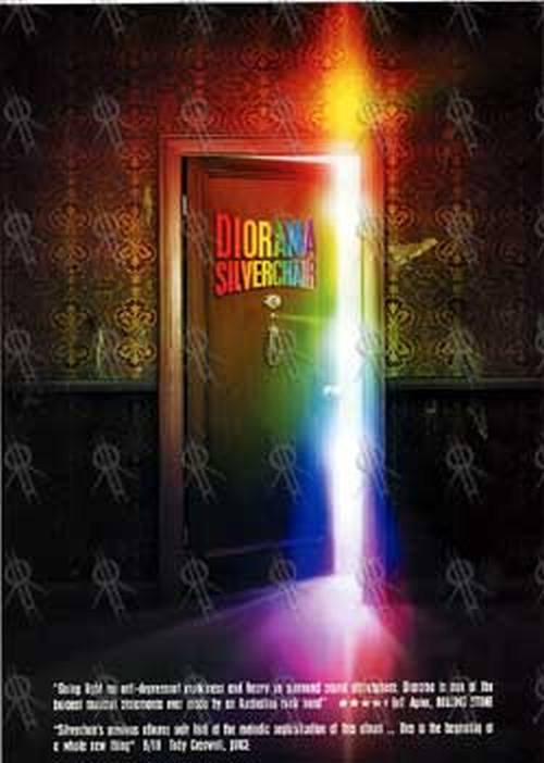 SILVERCHAIR - 'Diorama' Double-Sided Flyer - 1