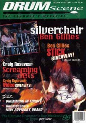 SILVERCHAIR - Drum Scene - Issue 6 April/May 1996 - 1