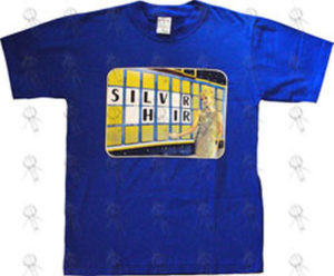 SILVERCHAIR - Royal Blue 'Wheel Of Fortune' Design 1999 Oz Tour T-Shirt - 1