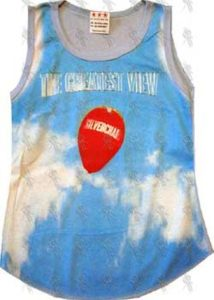SILVERCHAIR - Sky Blue 'The Greatest View' Single Art Girls Singlet - 1