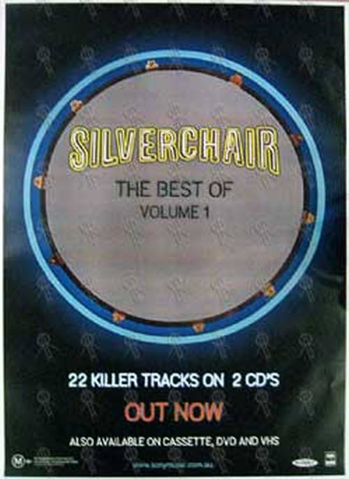 SILVERCHAIR - 'The Best Of Volume 1' Album Poster - 1