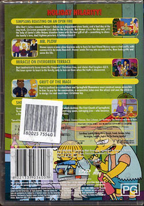 Simpsons The Christmas Dvds Rare Records