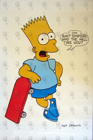 SIMPSONS-- THE - 'I'm Bart Simpson