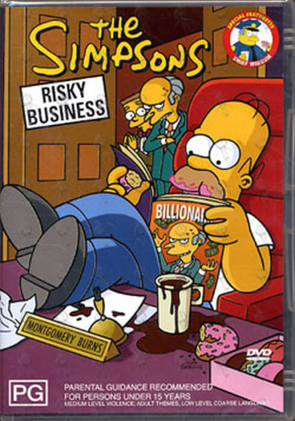SIMPSONS-- THE - Risky Business - 1