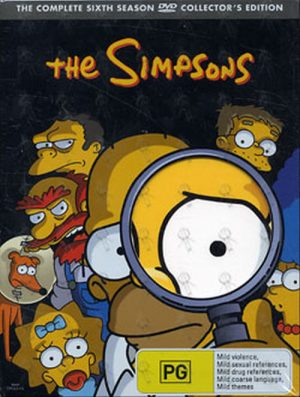 SIMPSONS-- THE - The Complete Sixth Season - 1