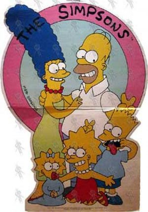 SIMPSONS-- THE - 'The Simpsons' Promo Display - 1