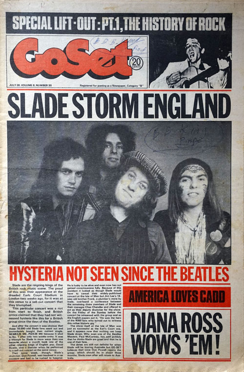 Image result for slade magazine cover""