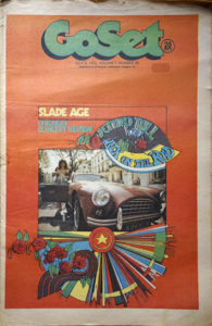 SLADE - 'GoSet' - 8th July 1972 - Volume 7 - Number 28 - Joe Jackson On Cover - 1