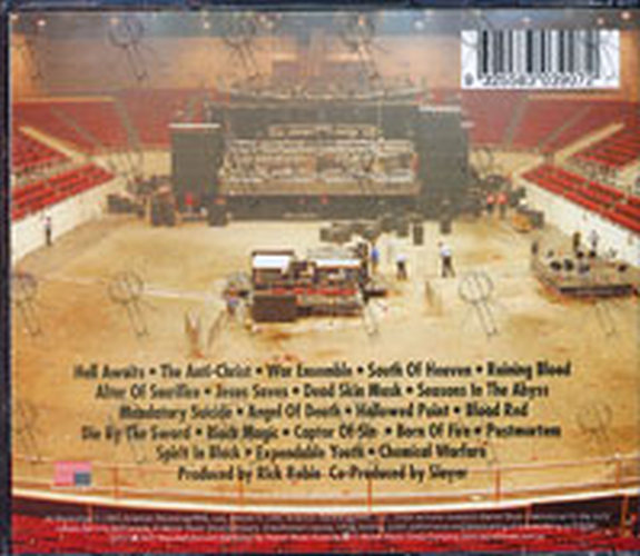 SLAYER - Live Decade Of Aggression - Disc Two - 2