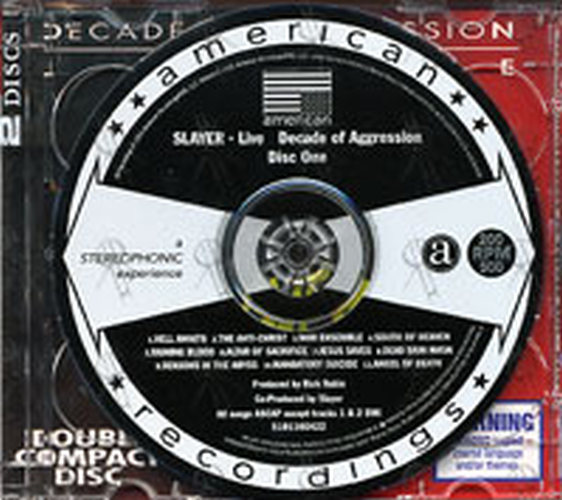 SLAYER - Live Decade Of Aggression - Disc Two - 3
