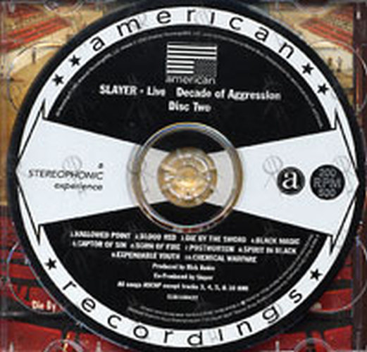 SLAYER - Live Decade Of Aggression - Disc Two - 4