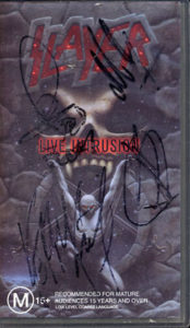 SLAYER - Live Intrusion - 1
