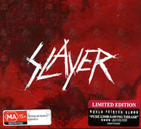 SLAYER - World Painted Blood - 1