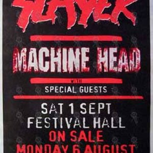 SLAYER|MACHINE HEAD - 'Festival Hall