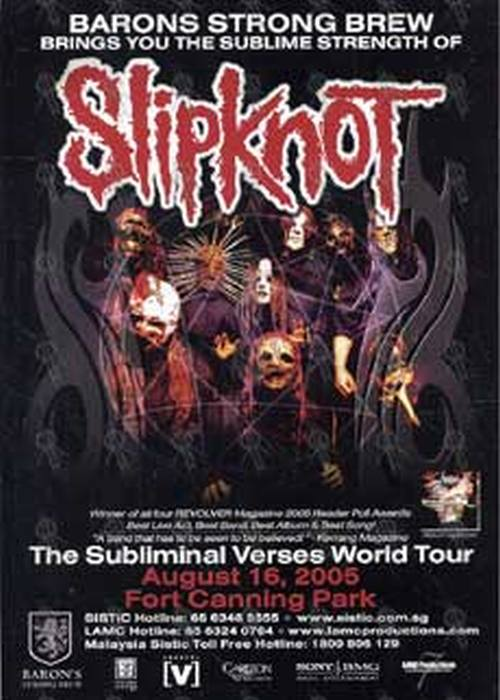 SLIPKNOT - August 16th