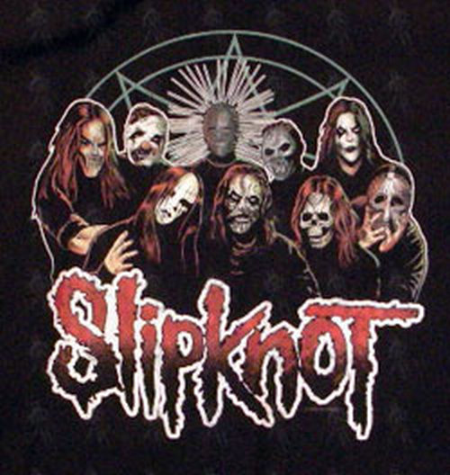 Slipknot Black Logo Design Dickies Workshirt Clothing
