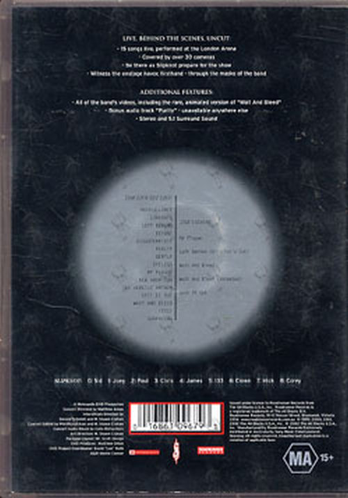 Slipknot Disasterpieces Dvds Rare Records