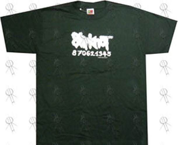 Slipknot Green Logo T Shirt Clothing Shirts Rare