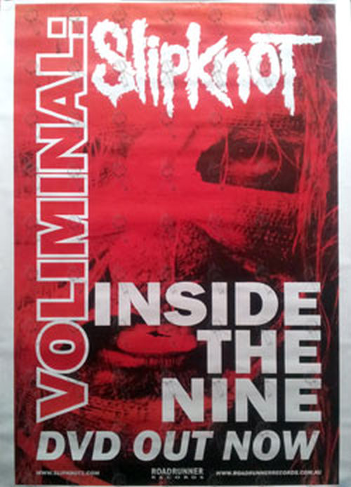 SLIPKNOT - 'Voliminal: Inside The Mind' DVD Promo Poster - 1