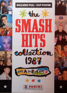 SMASH HITS - Collection 1987 - Sticker Book - 1