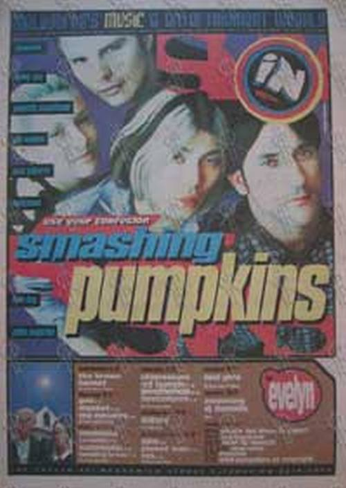SMASHING PUMPKINS-- THE - 'Inpress' - No.378 8 November 1995 - Smashing Pumpkins On The Cover - 1