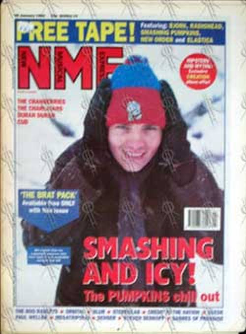 SMASHING PUMPKINS-- THE - 'NME' -29th January 1994 - Billy Corgan On Cover - 1