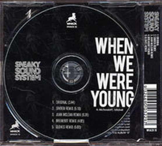 When We Were Young: When We Were Young (CD, Single / EP