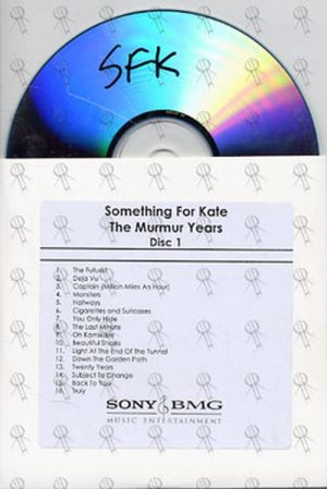 SOMETHING FOR KATE - The Murmur Years - Disc 1 - 1