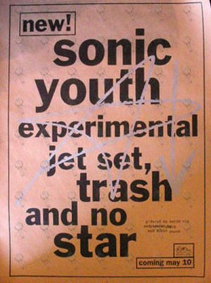 SONIC YOUTH - 'Experimental Jet Set