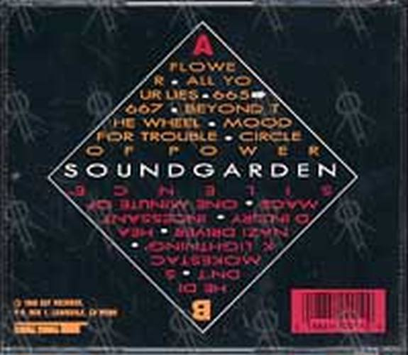 Soundgarden Ultramega Ok Album Cd Rare Records