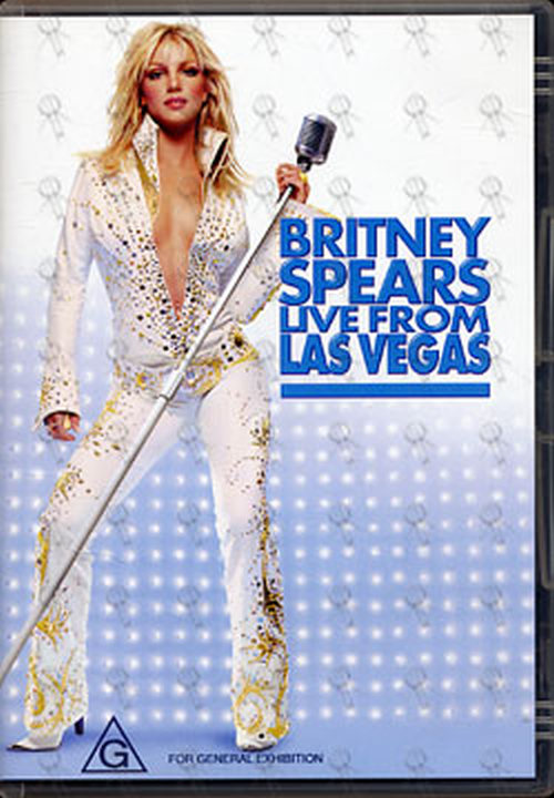 SPEARS-- BRITNEY - Live From Las Vegas - 1