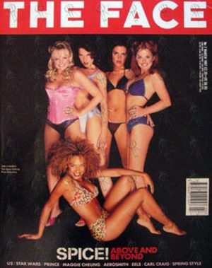 SPICE GIRLS - 'The Face' - March 1997 - No. 2 - Spice Girls On Front Cover - 1