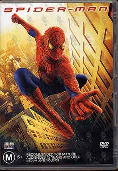 Spider Man Spider Man Dvds Rare Records