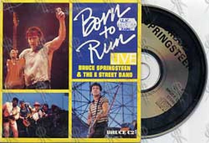 SPRINGSTEEN-- BRUCE - Born To Run (live) - 1