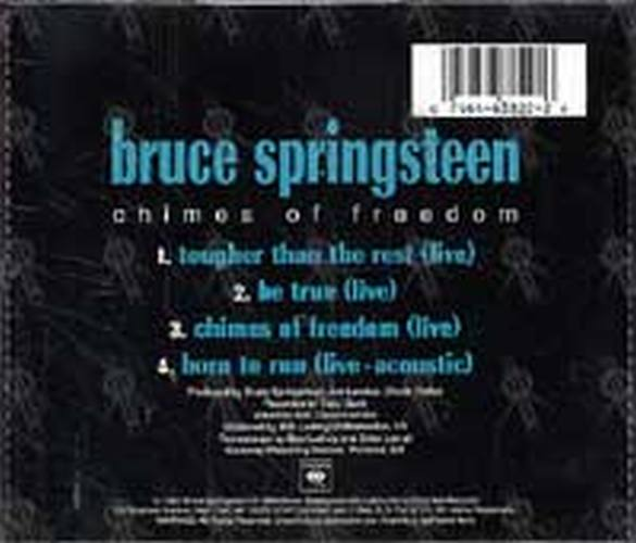 SPRINGSTEEN-- BRUCE - Chimes Of Freedom (Live EP) - 2