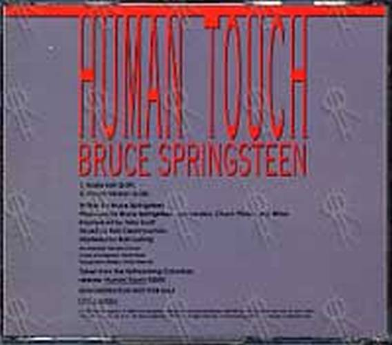 SPRINGSTEEN-- BRUCE - Human Touch - 2