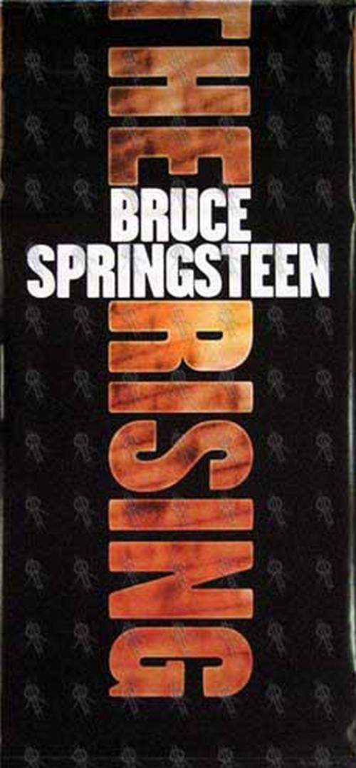 SPRINGSTEEN-- BRUCE - 'The Rising' Wall Hanging Banner - 1