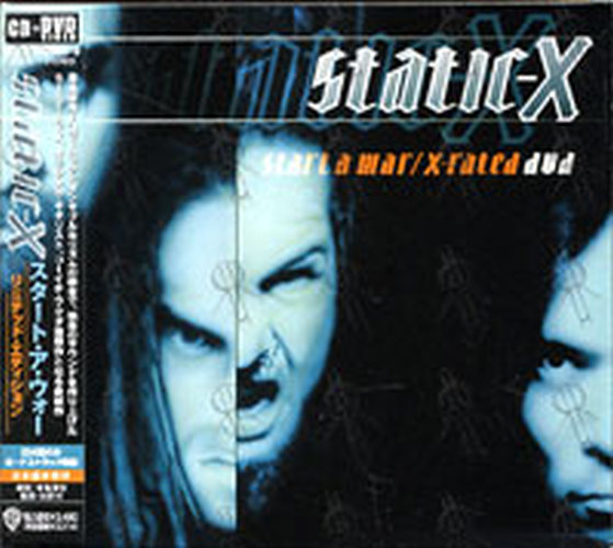 STATIC X - Start A War / X-Rated DVD - 1