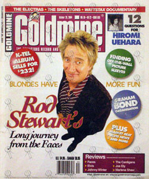 STEWART-- ROD - 'Goldmine' - October 29