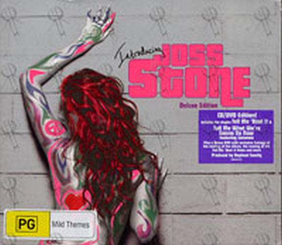 STONE-- JOSS - Introducing... Joss Stone - 1