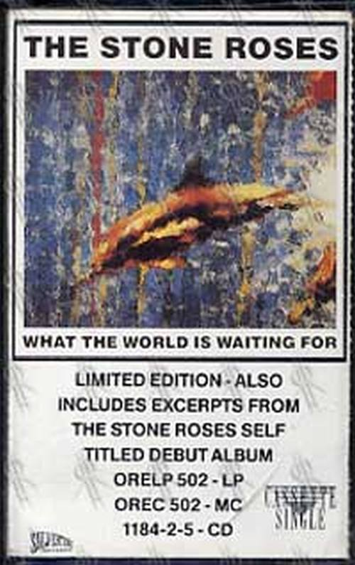 STONE ROSES-- THE - Fool's Gold/What The World Is Waiting For - 1