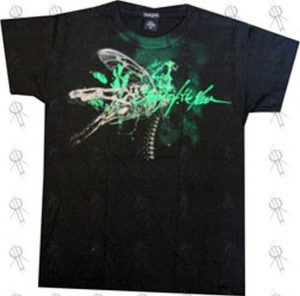 STORY OF THE YEAR - Black Dragonfly Design Girls T-Shirt - 1