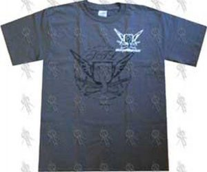STORY OF THE YEAR - Grey 'Crest' Design T-Shirt - 1