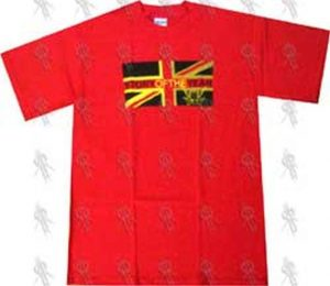 STORY OF THE YEAR - Red 'Flag' Design T-Shirt - 1