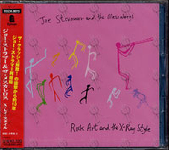 STRUMMER-- JOE & THE MESCALEROS - Rock Art And The X-Ray Style - 1
