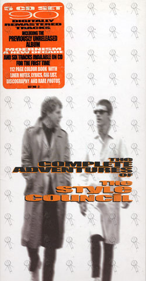 Style Council The The Complete Adventures Of The Style