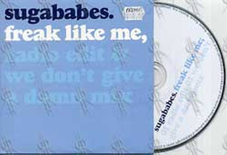 SUGABABES - Freak Like Me - 1
