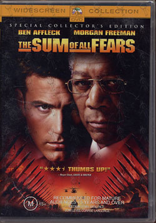 SUM OF ALL FEARS-- THE - The Sum Of All Fears - 1
