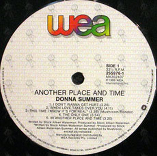 SUMMER-- DONNA - Another Place And Time - 3